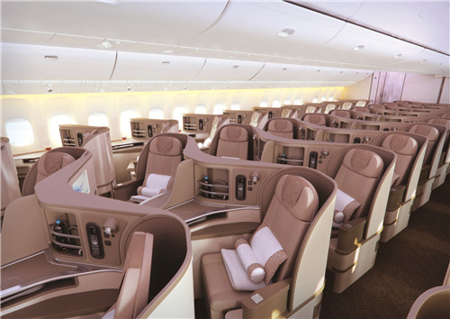 东航最新一代远程宽体机型