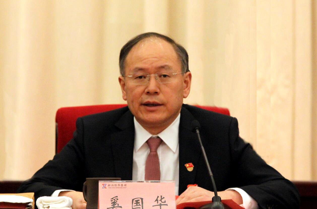 新兴际华董事长、党委书记奚国华接受人民网专访