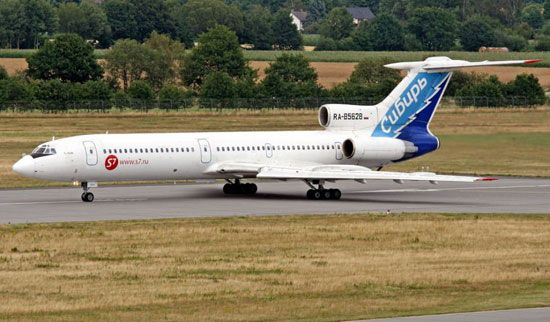 中国8年前已淘汰图-154型号客机(图)